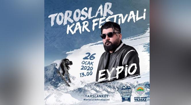 EYPİO, Toroslar'ın Kar Festivali'nde