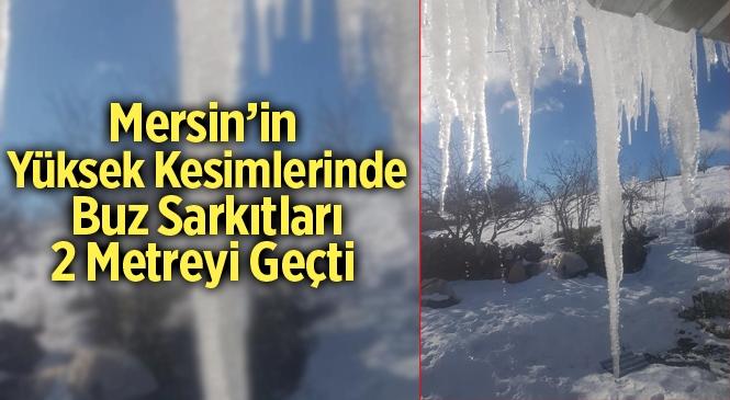 2 Metreyi Aşkın Buz Sarkıtları Tehlike Oluşturuyor