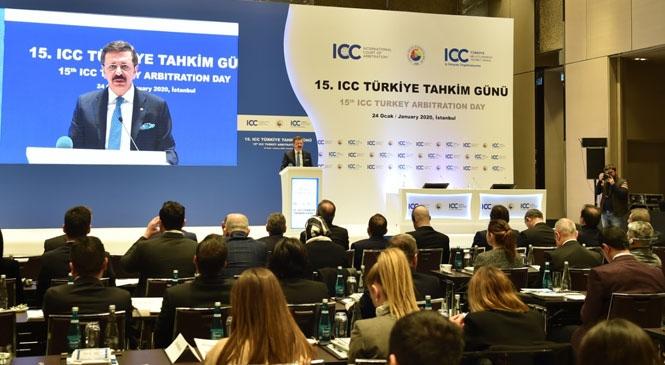 Başkan Koçak, 15. ICC Türkiye Tahkim Gününe Katıldı