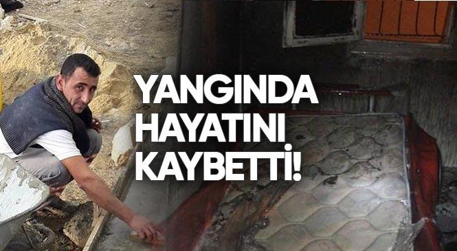 Şehit Sabri Acem'in Kuzeni Murat Acem, Mersin Tarsus Fevziçakmak Mahallesindeki Yangında Hayatını kaybetti