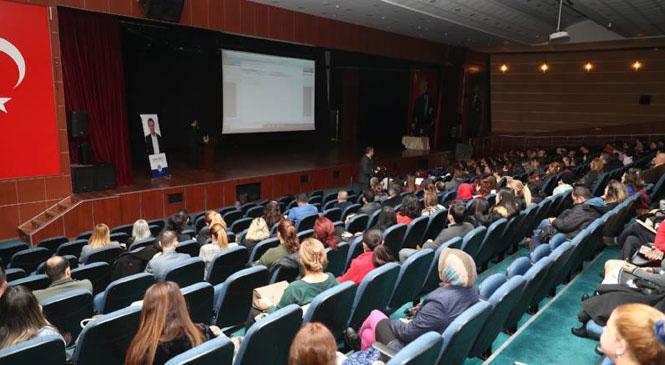 Mersin Büyükşehir, E-Belediye EBYS Modülüne Geçti! Personele, E-Belediye EBYS Modülüyle İlgili Eğitim Verildi