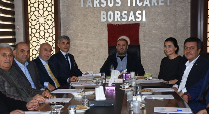 Tarsus Ticaret Borsası Yılın İlk Meclis Toplantısını Yaptı