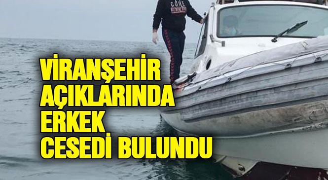Mersin Mezitli Viranşehir Açıklarında Erkek Cesedi Bulundu