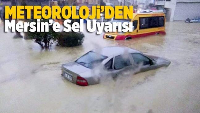 Mersin Meteoroloji Müdürülüğü'nden Son Dakika Sağanak Yağmur Uyarısı Geldi