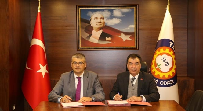 Tarsus Üniversitesi ve Tarsus TSO Arasında Protokol