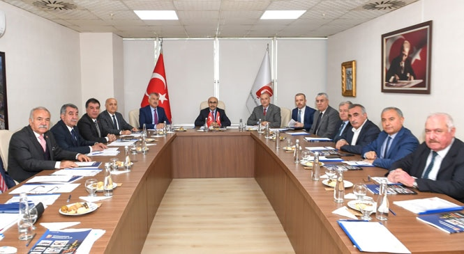 Tarsus TSO Başkanı H. Ruhi Koçak, Yeniden ÇUFAŞ Yönetiminde