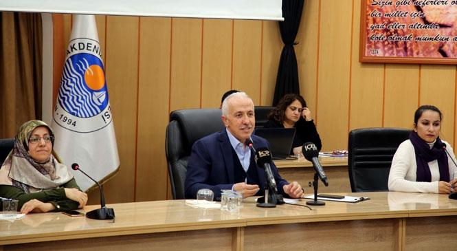 """Akdeniz Belediye Başkanı Gültak, Meclis Toplantısında Konuştu: """"Yıllardır Yanlış Giden Sisteme 'dur' Dedik"""""""