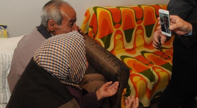 Yenişehir'de Yaşayan Münevver Teyze ve Kardeşi Geçici Evlerine Yerleştirildi