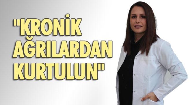 """Özel Mersin Ortadoğu Hastanesi Psikologu Jale Köksal """"Kronik Ağrılardan Kurtulun"""""""