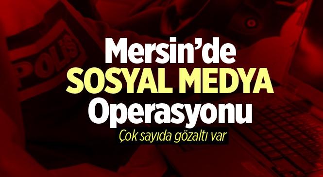 Mersin'de Sosyal Medyada Terör Örgütü Propagandası Yapan 3 Kişi Yakalandı