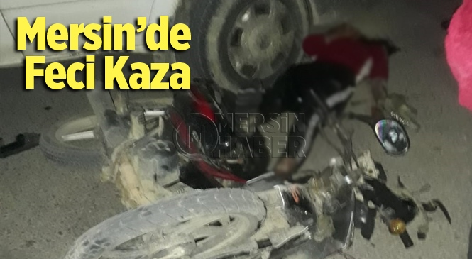Mersin Tarsus'ta Feci Kazada 1 Kişi Yaralandı