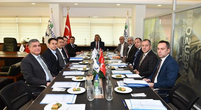 Tarsus Organize Sanayi Bölgesi Müteşebbis Heyet Toplantısı Gerçekleştirildi
