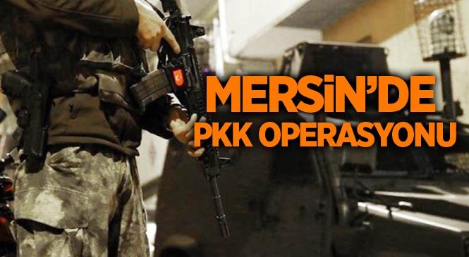 Mersin Tarsus'ta PKK/KCK Operasyonu: 3 Gözaltı