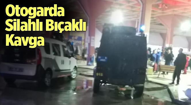 Adana Otogarı'nda Silahlı ve Bıçaklı Kavga: 3 Yaralı