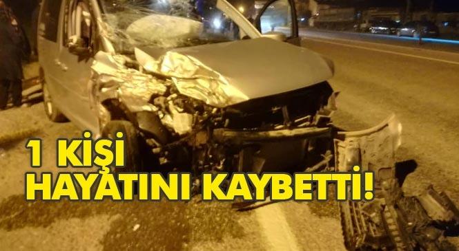 Mersin Bozyazı'da Feci Kaza, Hayat Mücadelesini Kaybetti!