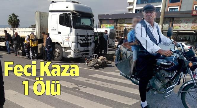 Erdemli'deki Trafik Kazasında Kerim Yıldız İsimli Motosikletli Vatandaş Hayatını Kaybetti