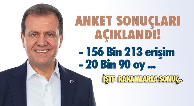 Mersin Büyükşehir Belediye Başkanı Vahap Seçer'den Memnun Musunuz Anketi Sonuçları Yayınlandı!