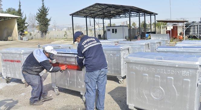 Yenişehir Çöp Kutularında da Tasarruf Sağlıyor