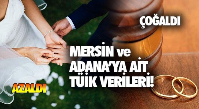 Mersin ve Adana'da Evlenmeler Azalırken, Boşanmalar Arttı! Tüik Verileri