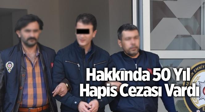 Mersin'de Hakkında 50 Yıl Hapis Cezası Bulunan Zanlı Yakalandı