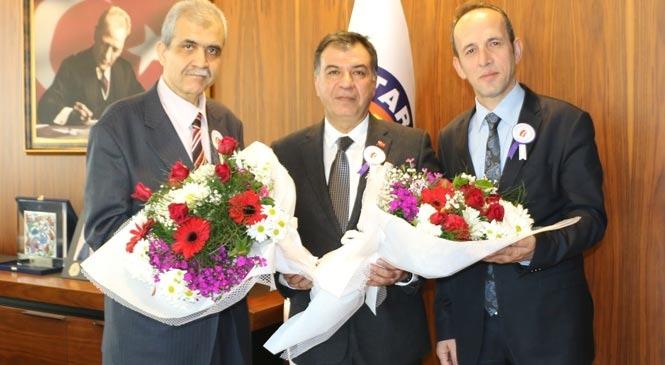 Vergi Haftası Kapsamında Tarsus TSO'ya Ziyaret
