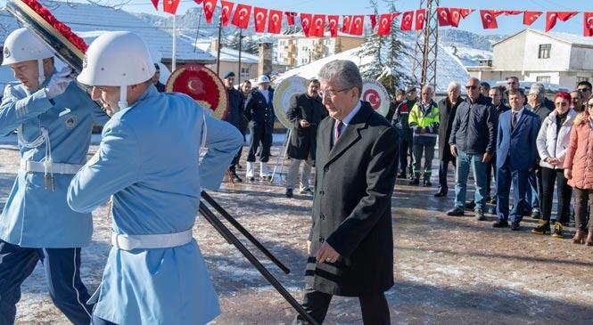 Mersin Arslanköy'ün Kurtuluşunun 100'üncü Yıldönümüne Buruk Kutlama