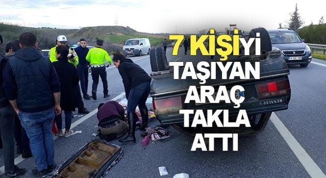 Mersin - Adana Otobanında Feci Kaza 7 Kişi Yarlandı