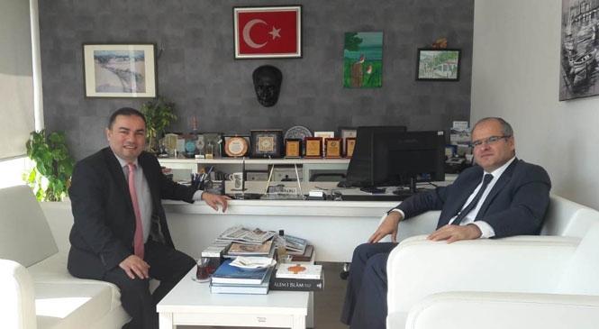 Başkan Kahveci'den Oranlı'ya İade-i Ziyaret