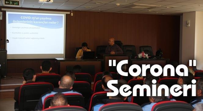"""Mersin Erdemli'de """"Corona"""" Virüsü Farkındalık Semineri"""