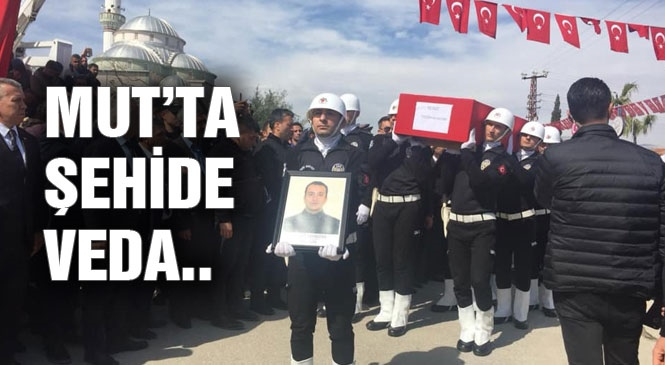 Ağrı'daki PKK'nın Roketli Saldırısında Mersinli Şehit Gümrük Personeli Özgür Kavastan Memleketi Mut'ta Toprağa Verildi