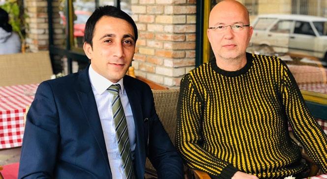 MHP Çamlıyayla İlçe Başkanı Genç, Gazeteciler Cemiyeti Başkanı Cemal Dolaşmaz İle Bir Araya Geldi
