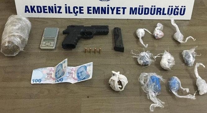 Akdeniz İlçe Emniyet Müdürlüğü 7 Günde; 8 Hırsızlık ve 1 Gasp Olayını Aydınlattı