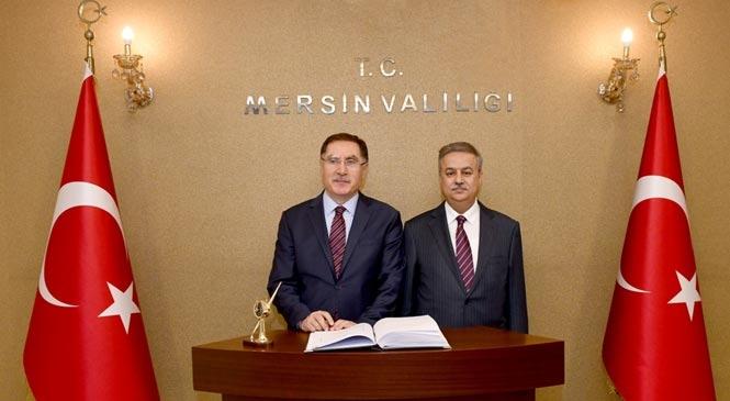 Kamu Başdenetçisi Şeref Malkoç Mersin'de