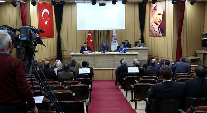 Akdeniz Belediye Meclisinde Komisyonlardan Gelen Kararlar, Meclis Üyelerinin Oybirliğiyle Kabul Edildi