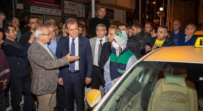 Mersin'de Yolcu Taşıma Araç Sürücüleri İçin Eğitim Programı Başladı
