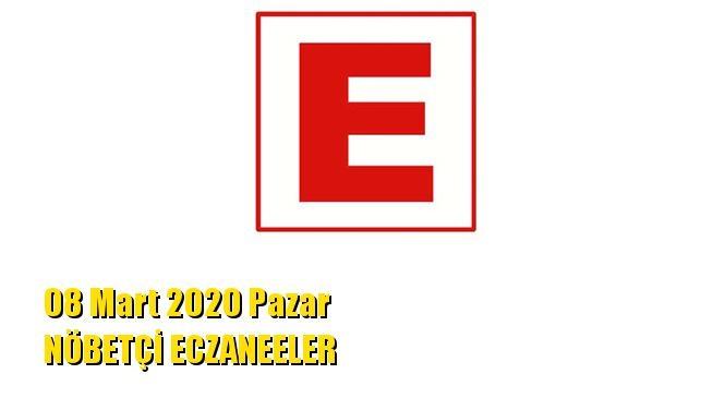 Mersin Nöbetçi Eczaneler 08 Mart 2020 Pazar