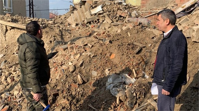 MESKİ, Elazığ Depremi Sonrası Hasar Tespit Çalışmalarına Teknik Destek Verdi