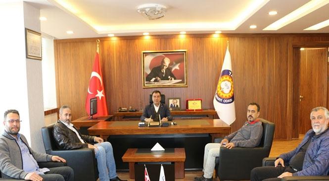 Kanatlı Hayvan Eti Üreticileri Birliği'nden Tarsus TSO'ya Ziyaret