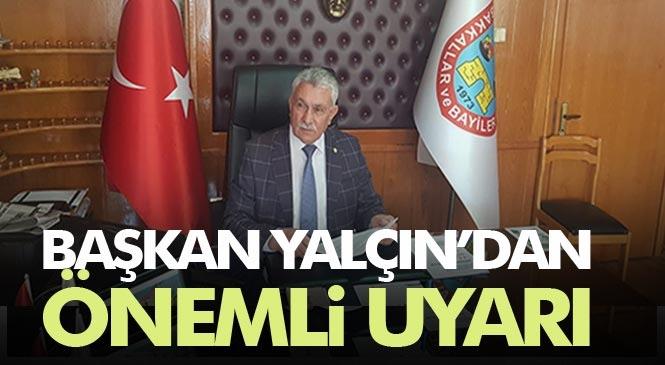 Bakkallar ve Bayiler Odası Başkanı Erdoğan Yalçın, Tütün Ve Alkollü Satış Yapan Bayiler İçin Duyuru Yaptı