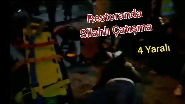 Mersin Dalakderesinde silahlı çatışma