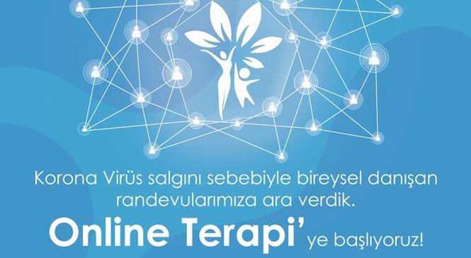 Toroslar Kadın ve Çocuk Danışma Merkezi'nden, Online Terapi