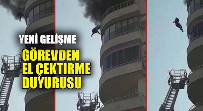 """Cumartesi Günü Viranşehir'de Yasemin Özel'in Hayatını Kaybettiği Yangın Olayında """"Görevden El Çektirme Kararı"""""""