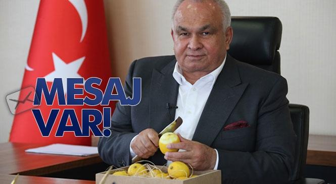"""Limonun Başkenti Mersin Erdemli Belediye Başkanı """"Limon Tüketelim, Vücut Direncimizi Yükseltelim"""""""
