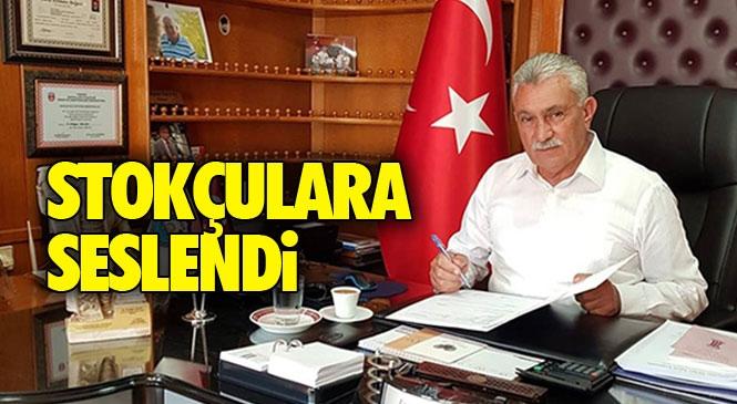 Tarsus Bakkallar ve Bayiler Odası Başkanı Erdoğan Yalçın, Korona İle Mücadele Sürecinde Stok Yapanlara Seslendi