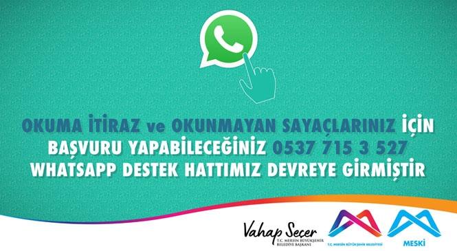 MESKİ Whatsapp Hattı, Abone İşlemlerini Kolaylaştırıyor