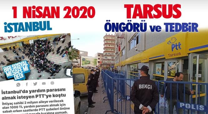 Mersin Tarsus'ta Şehrini İyi Tanıyan Bir Kaymakam Olunca İşte Böyle Güzel Tedbirler Alınır! İstanbul ile Tarsus Arasındaki 1 Nisan Farkı