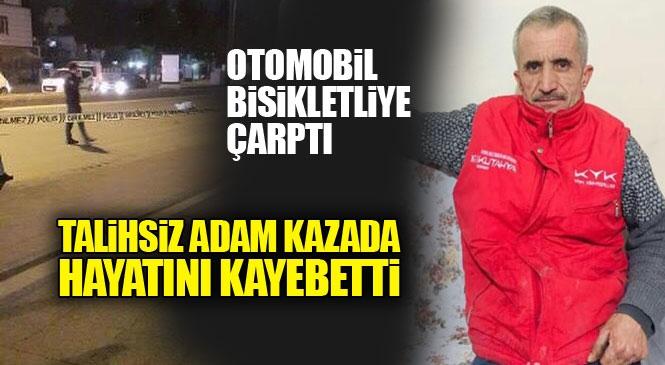Mersin Akdeniz GMK Bulvarı Üzerinde Trafik Kazası: Hüseyin Üreç İsimli Bisikletli Hayatını Kaybetti