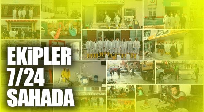 Erdemli Belediyesi 7/24 Sahada