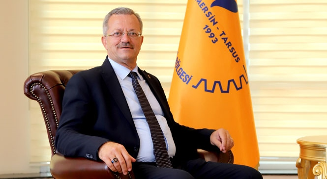 Mersin Tarsus Organize Sanayi Bölgesi (MTOSB) Başkanı Sabri Tekli'den, Covıd-19'a Rağmen Tedbirlerini Alıp, İstihdama ve İhracata Devam Mersinli Sanayicilere Teşekkür