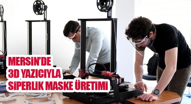 Her Şey Sağlık Çalışanları İçin! Büyükşehir, Sağlık Çalışanları İçin Siperlik Maske Üretiyor